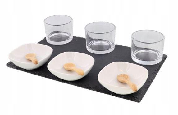 Элегантный набор закусок для соусов для дип-соусов