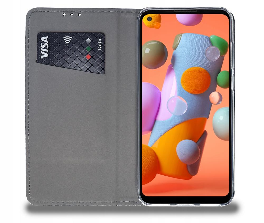 Etui do Samsung Galaxy M11 Magnet Case + Szkło 9H Dedykowany model Samsung Galaxy M11