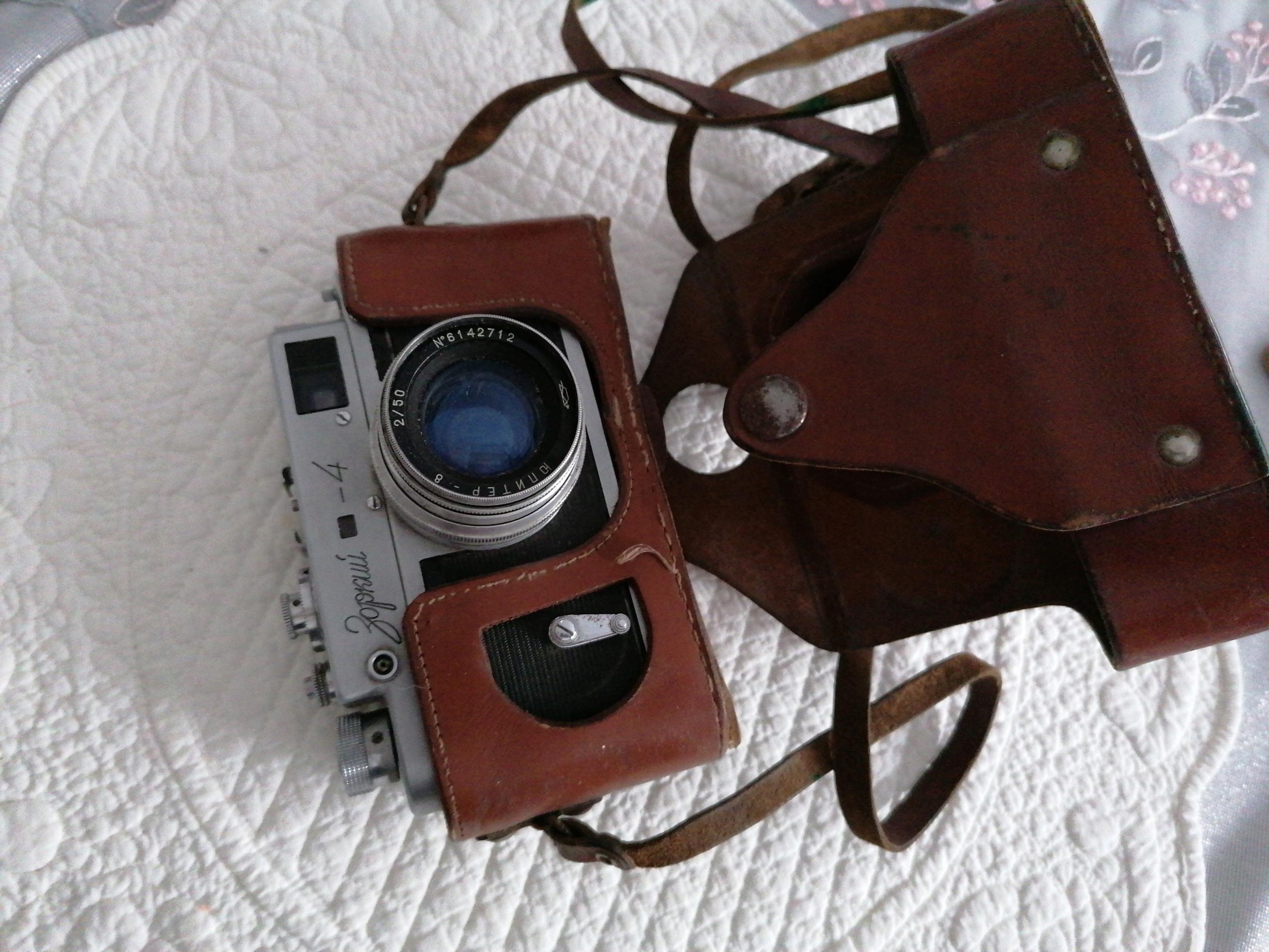 Starý ruský Zaporoje fotoaparát 4