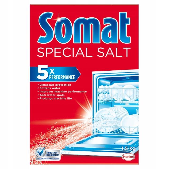 Сомат Dishwasher Соль 1,5 кг