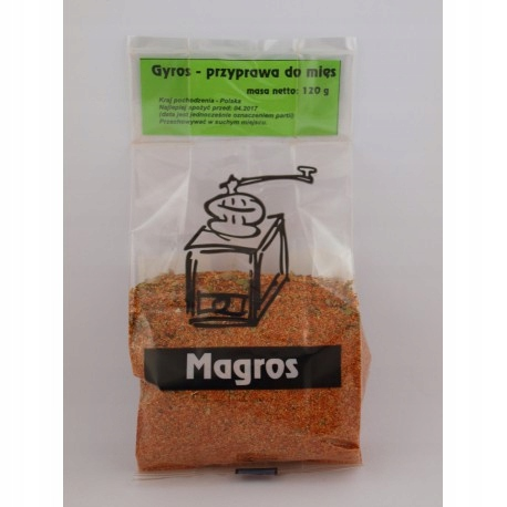 MAGROS gyros spice без глютена