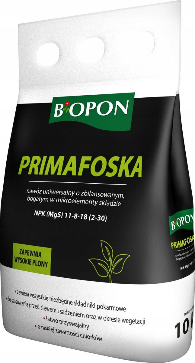 УДОБРЕНИЕ БИОПОН ПРИМАФОСКА гранулы 10 кг