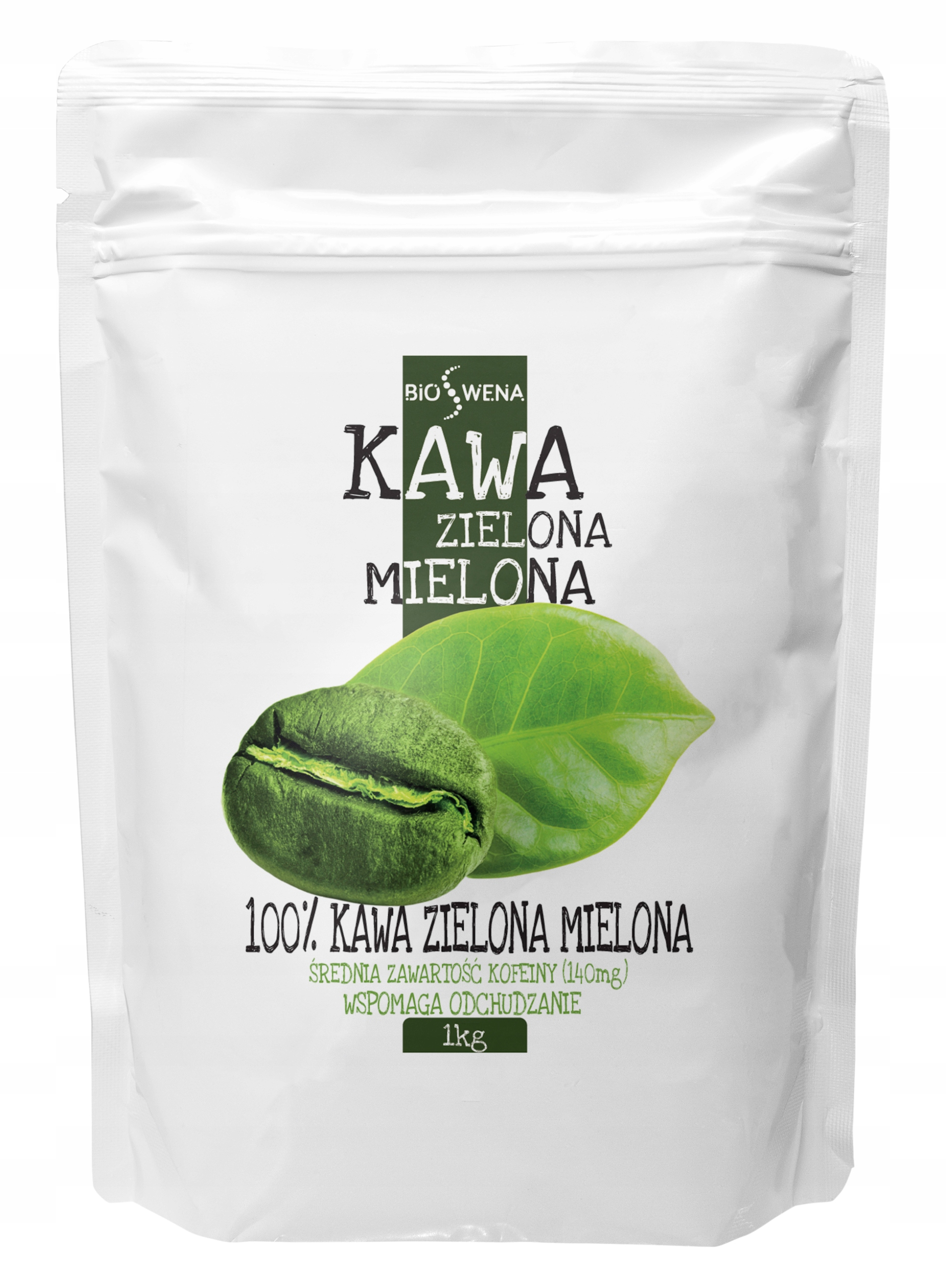 Молотый зеленый кофе 1 кг BIOSWEN