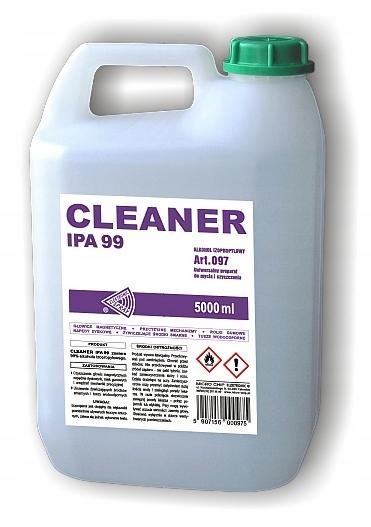 MC097 CLEANSER IPA 99 изопропиловый спирт 99 5Л