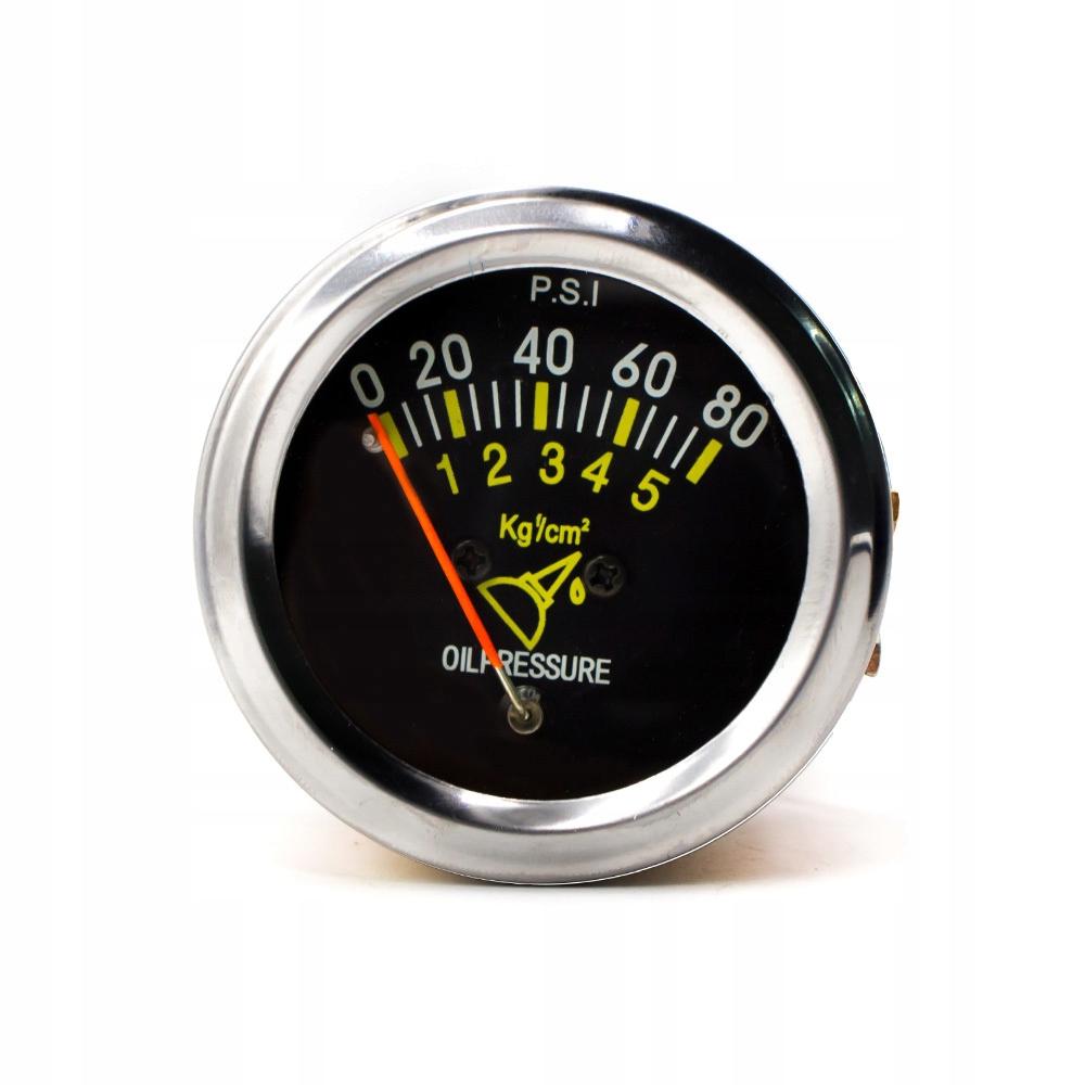 Retro Rozchod tlak oleja indikátor