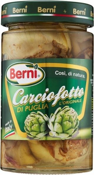 KARCZOCHY Carciofotto w oleju 280 g Włochy BERNI
