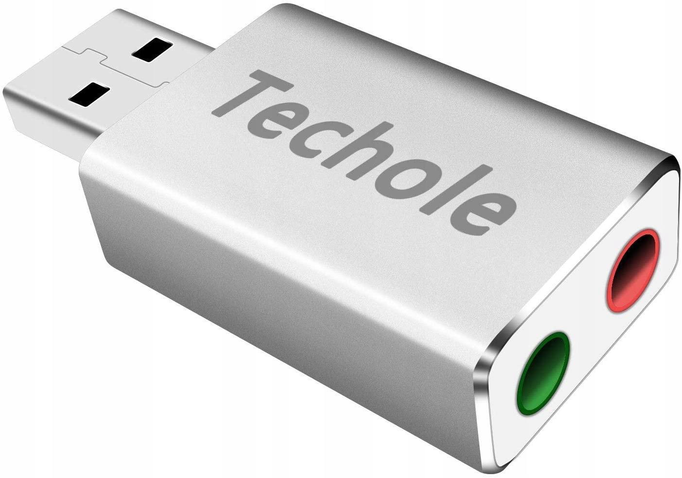 Купить Аудиоадаптер USB 2 разъема 3,5 мм Наушники Микрофон на Otpravka - цены и фото - доставка из Польши и стран Европы в Украину.