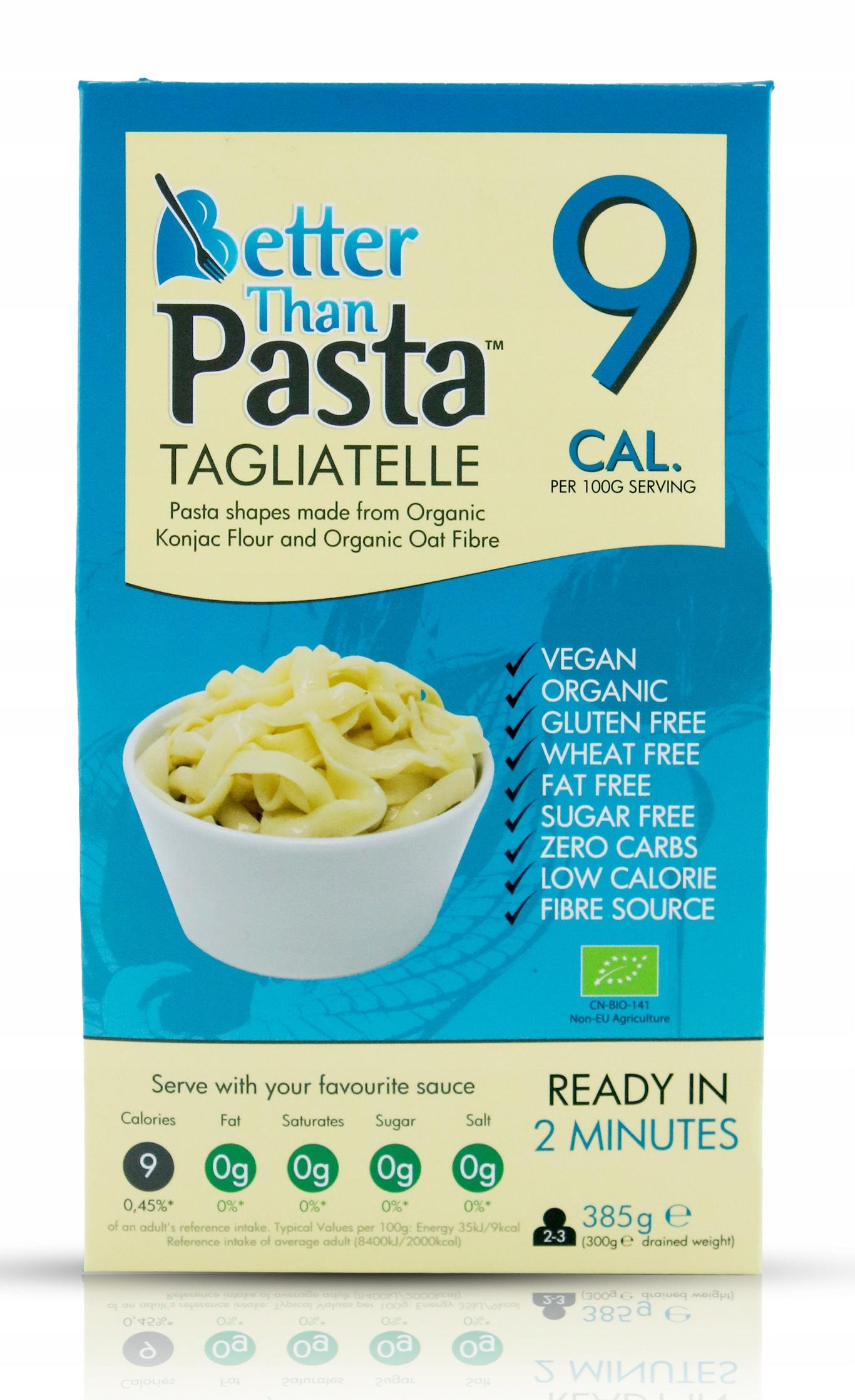 Makaron Tagliatelle Better Than Foods 9kcal - keto