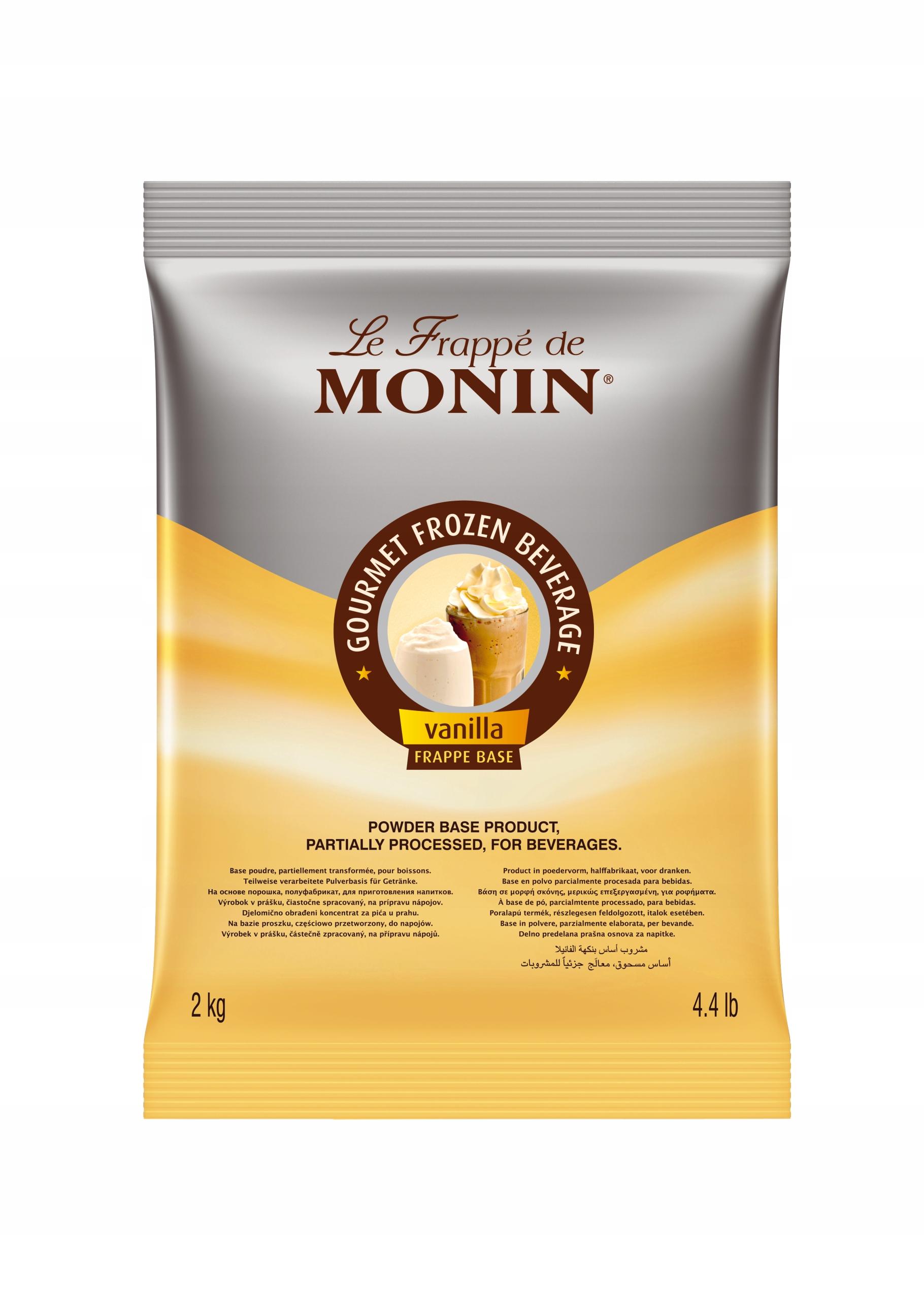 Frapee základ vanilka Monin 2 kg vrece
