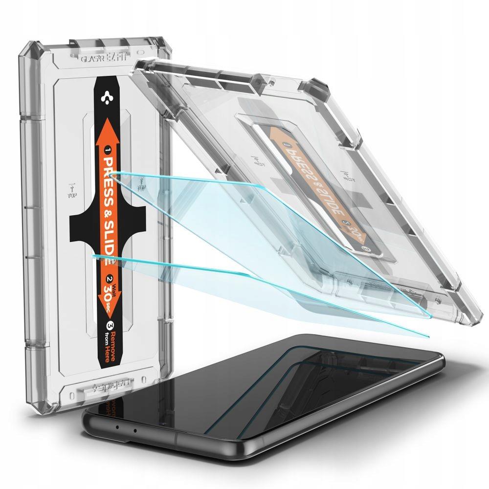 2x Szkło Hartowane Spigen do Galaxy S21 Plus 5G