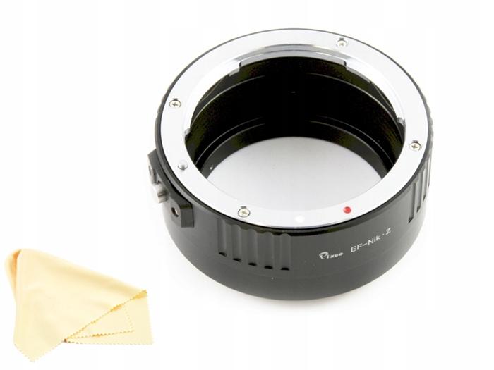 Купить Адаптер Сокращение от NIKON С Z6 Z7 на CANON EOS EF на Otpravka - цены и фото - доставка из Польши и стран Европы в Украину.