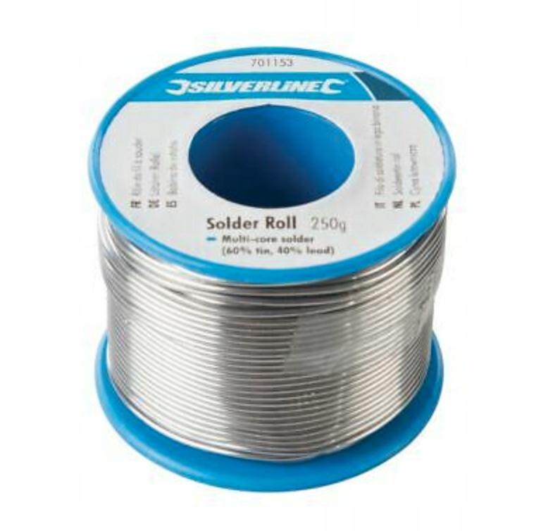 TIN Солдеринг олова связующего Silverline 250g