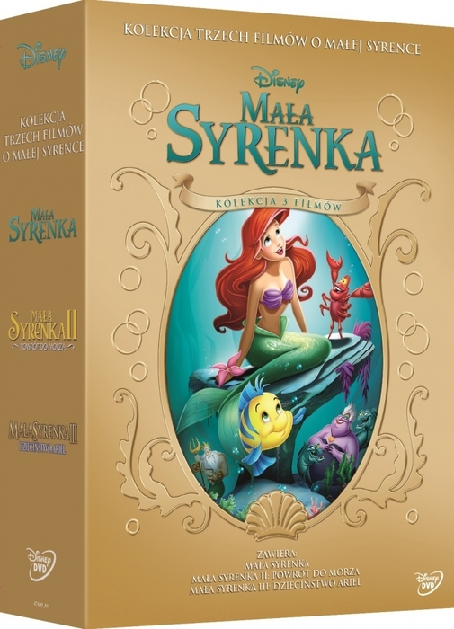 Item The little MERMAID 1+ 2 + 3 COLLECTION - Disney [3 DVD]