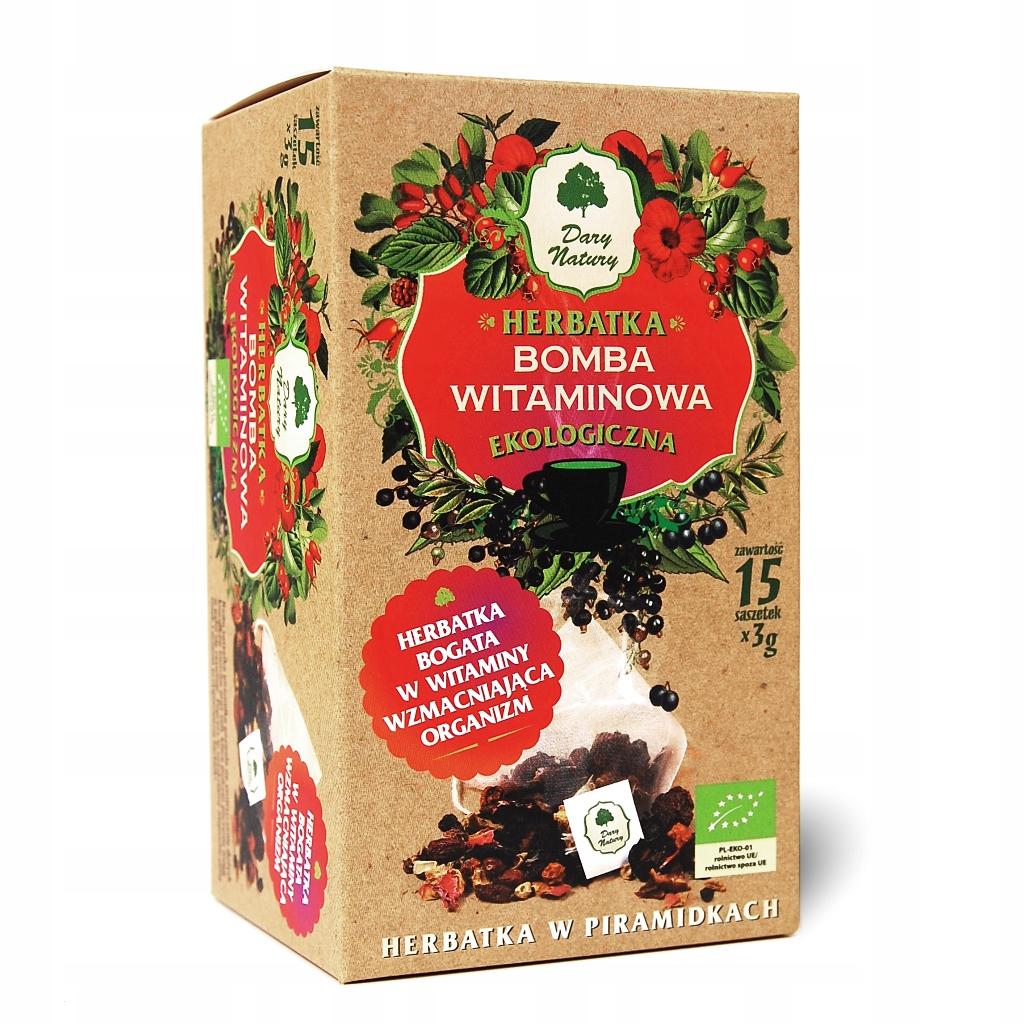 Чай Vitamin Bomb Eco 15x3g Dary Natury