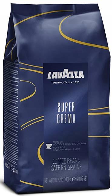 кофе ? зернах Lavazza супер Crema 1кг