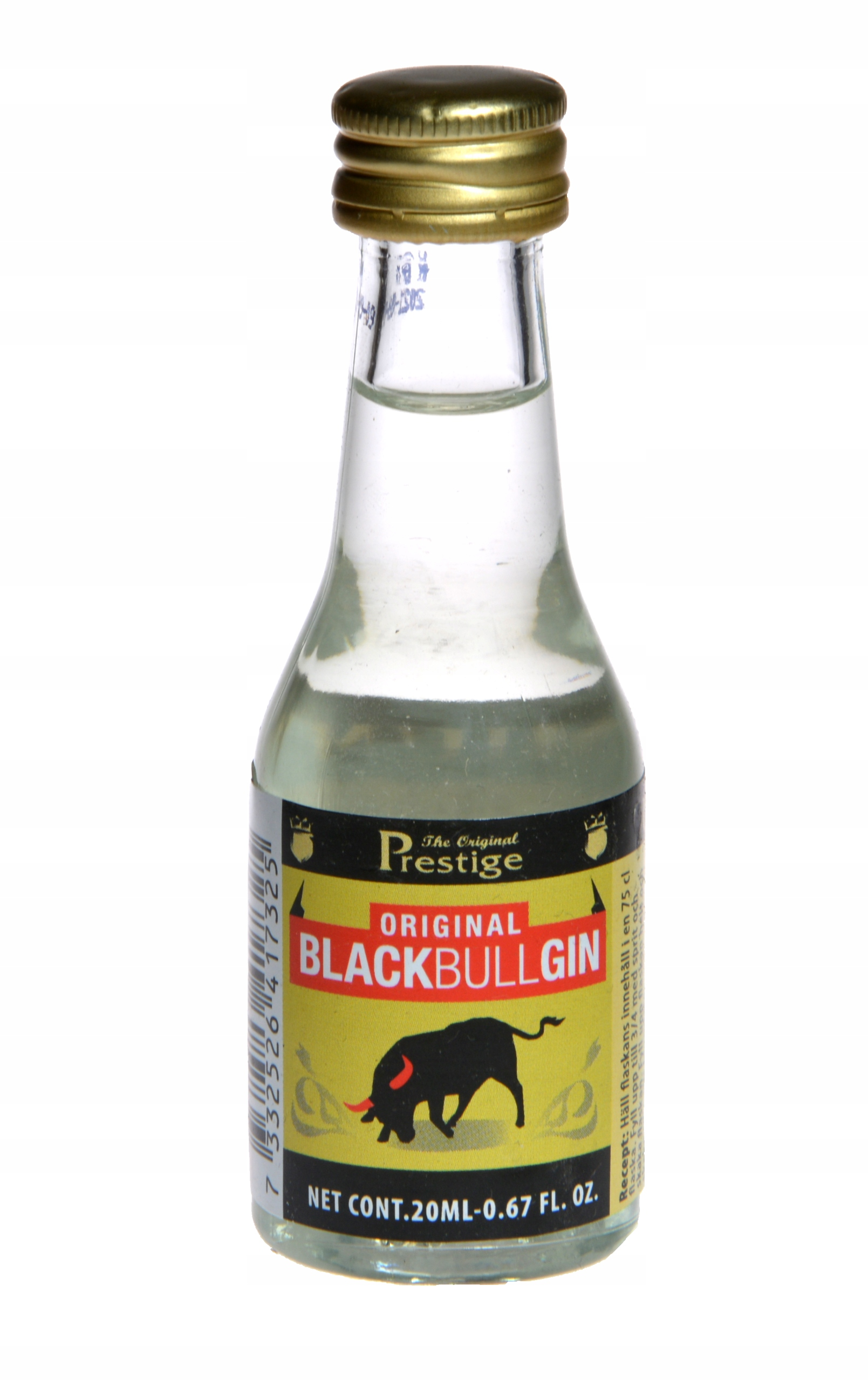 Zaprawka do alkoholi PRESTIGE Black Bull Gin 20ml