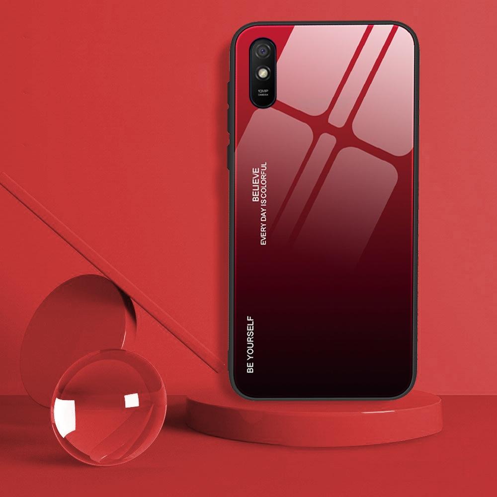 Etui do Xiaomi Redmi 9A Case Glass + Szkło 9H Kod producenta M24A