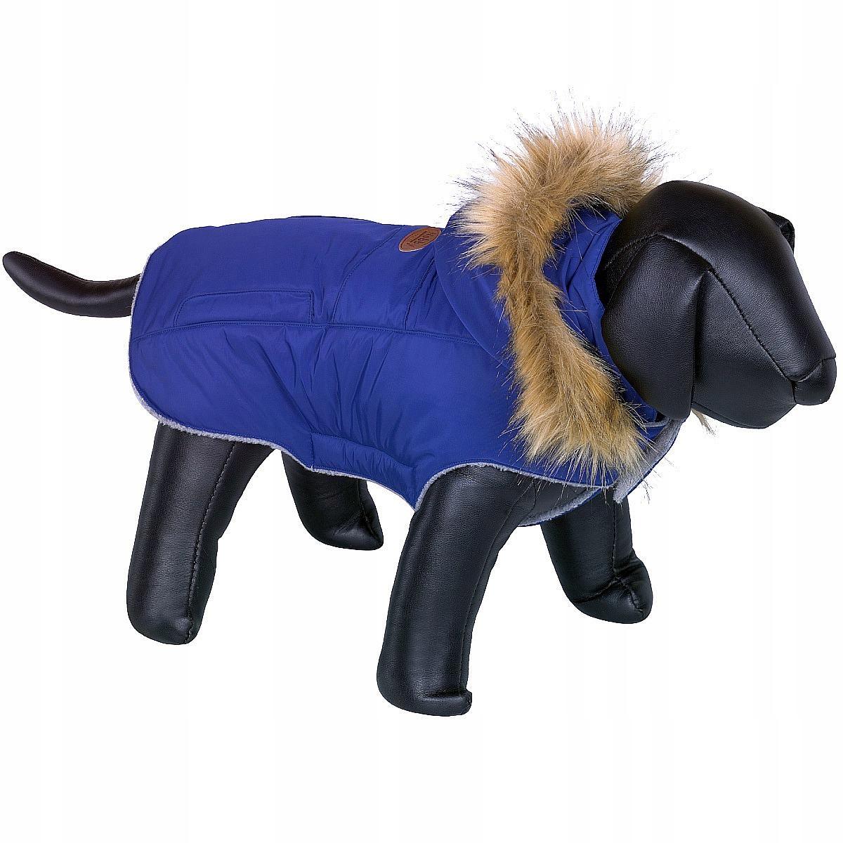 Oblek, Bundu na psa Nobby Elna 32 cm M fleece kapucňou