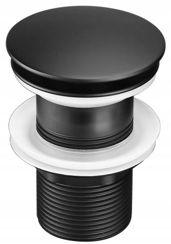 MAT BLACK CLICK Заглушка CLACK для умывальника