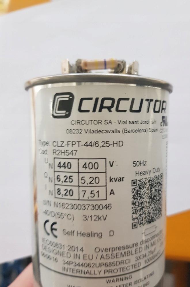 Kondenzátor Power Power CLZ-FPT-44 / 6,25kvar promo