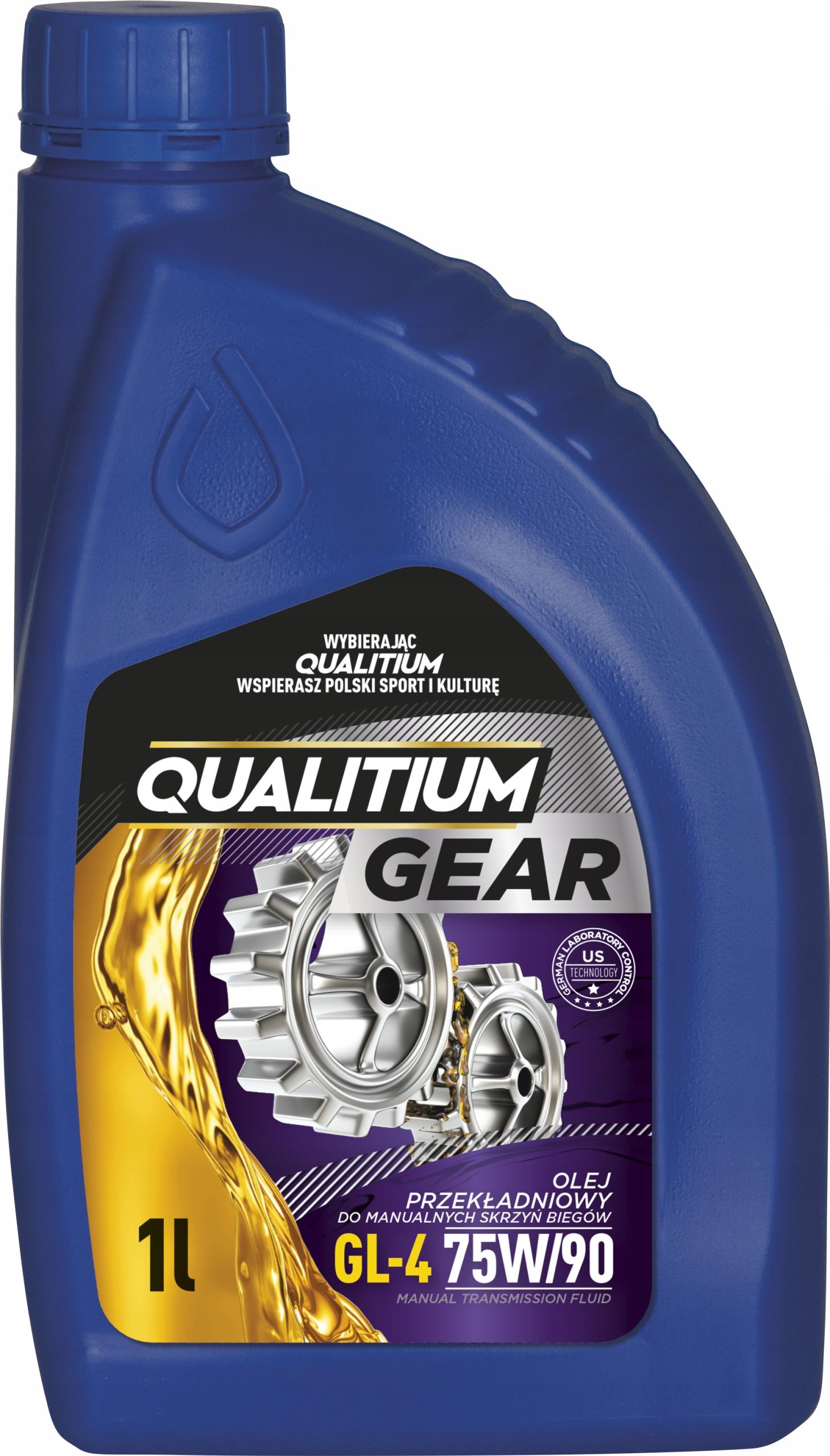 QUALITIUM Gear GL 4 75W 90 1L Трансмиссионное масло