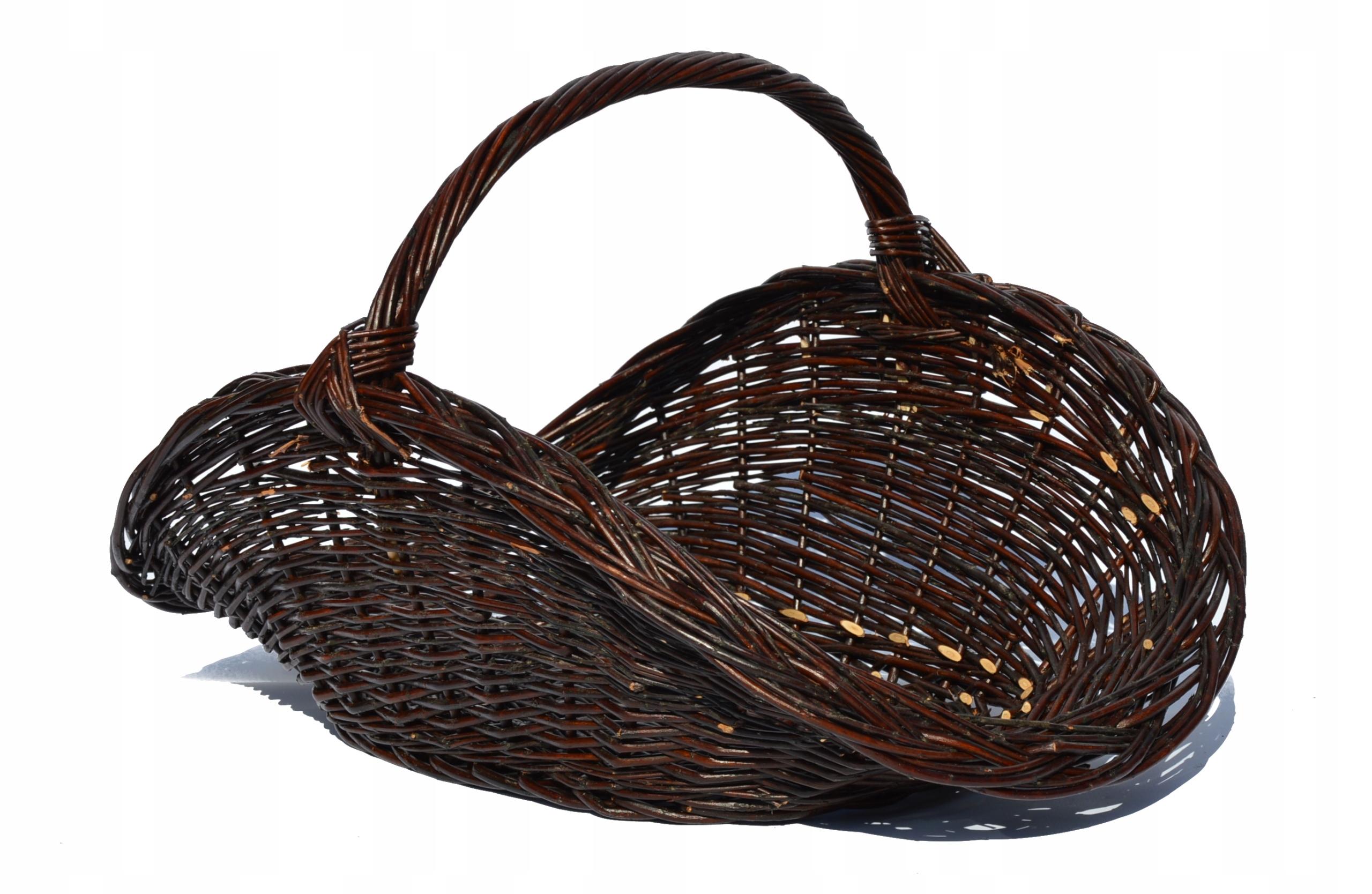 Плетеные корзины для дров для камина 58см СУПЕР!!!!
