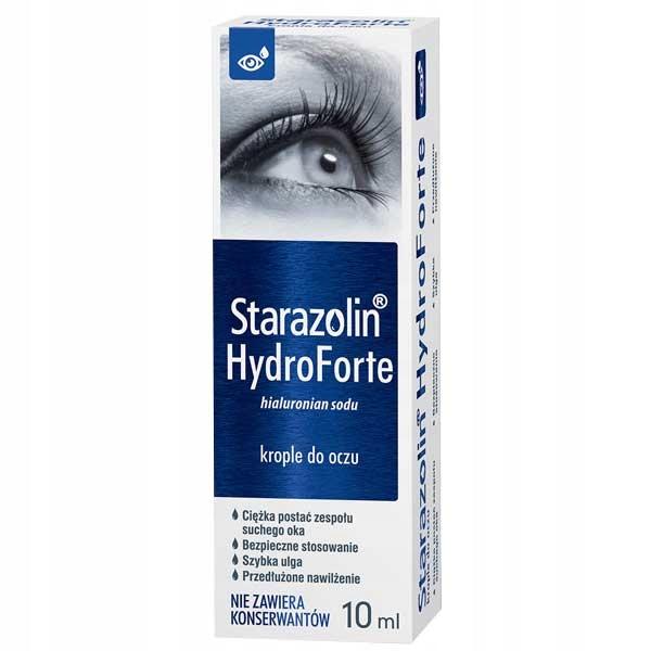 Купить Старазолин HydroForte Увлажняющие глазные капли на Otpravka - цены и фото - доставка из Польши и стран Европы в Украину.