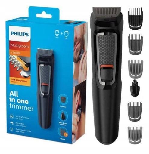 Item SHAVER TRIMMER HAIR PHILIPS 7w1 MG3720/15