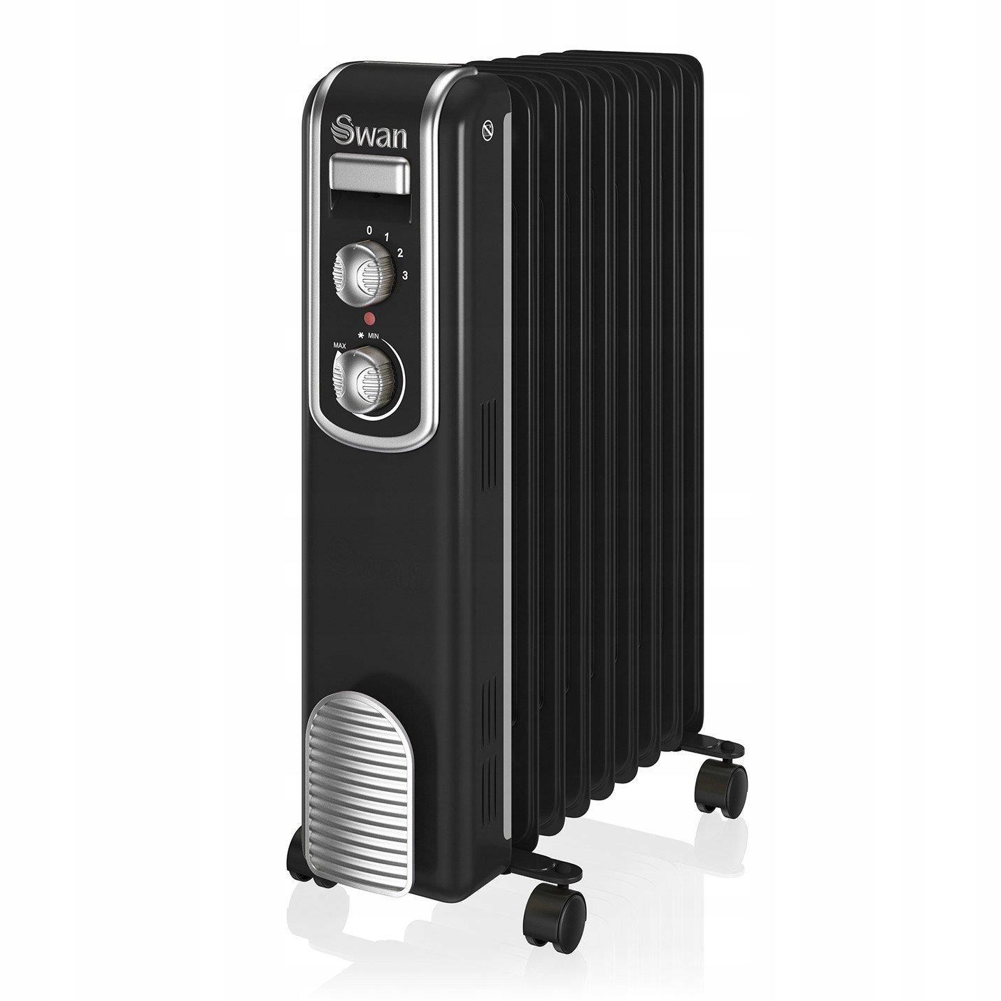 Olej radiátor Swan RETRO SH60010BN (2000W 9