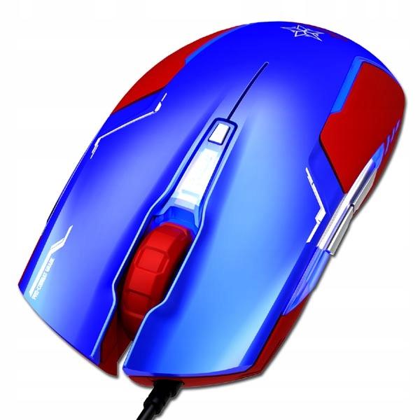 Купить Мышь для игрока E-blue Marvel Captain America на Otpravka - цены и фото - доставка из Польши и стран Европы в Украину.
