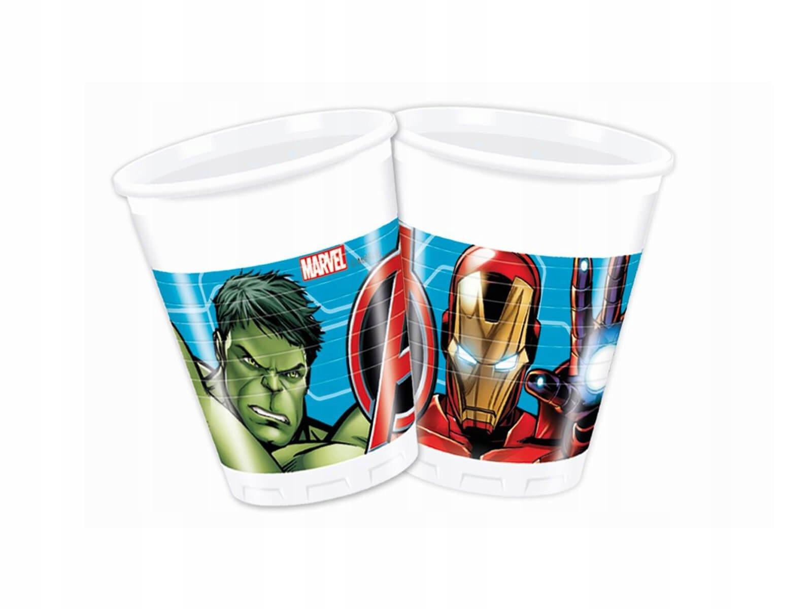 Купить Kubeczki Mighty Avengers 200ml 8s Urodziny на Otpravka - цены и фото - доставка из Польши и стран Европы в Украину.