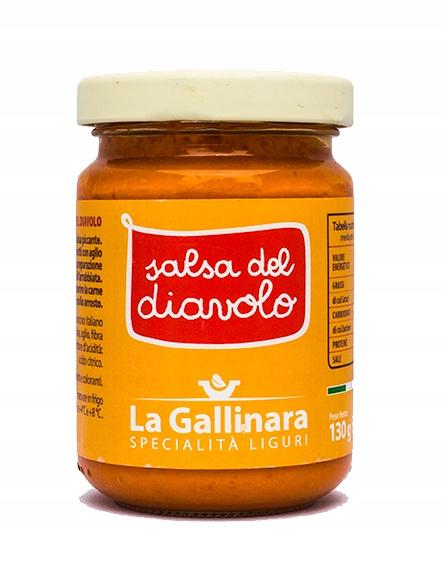 La Gallinara- дьявольский соус, Лигурия 130г