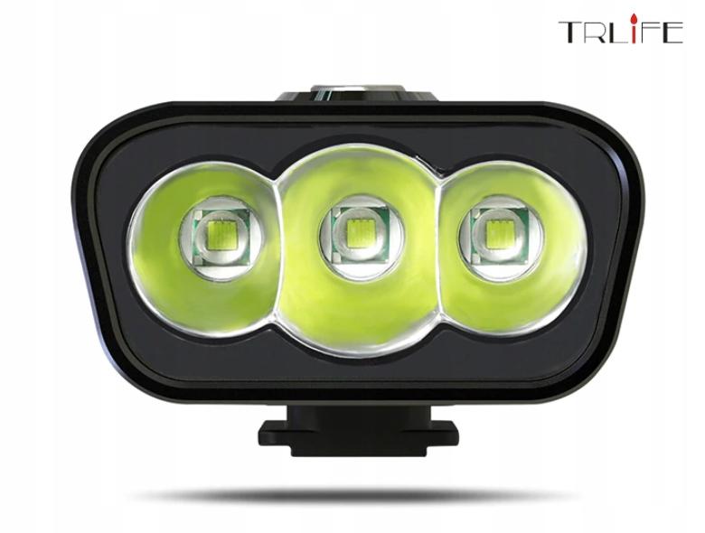Lampa rowerowa TRLiFE NX3 1600lm 5200mAh PowerBank Marka Inna marka