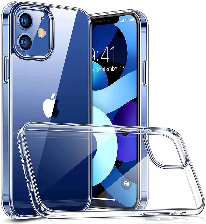 Etui do iPhone 12 / 12 Pro Clear Case + Szkło 9H Przeznaczenie Apple