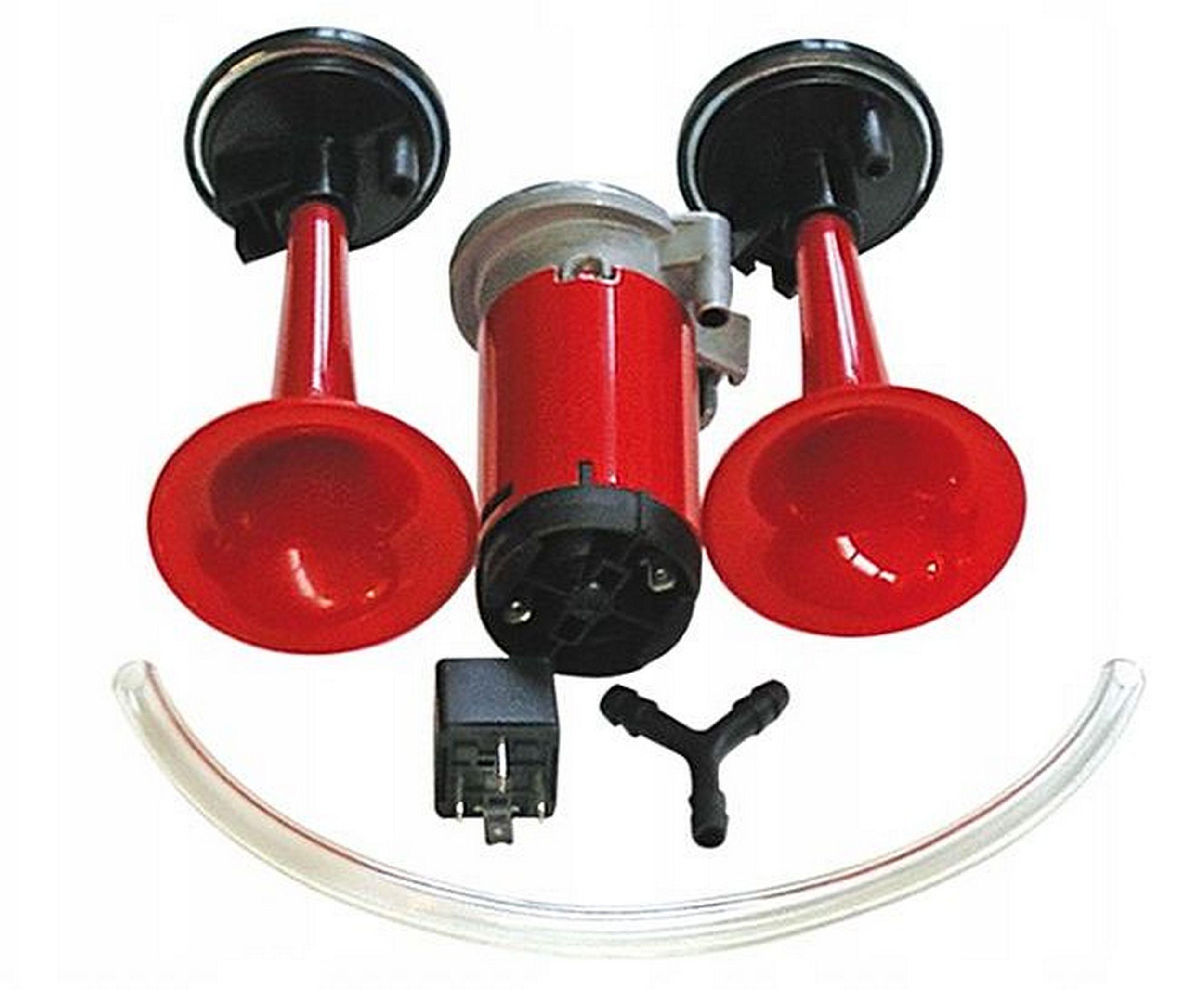 клаксон звуковой сигнал z компрессором труба громкая 12v