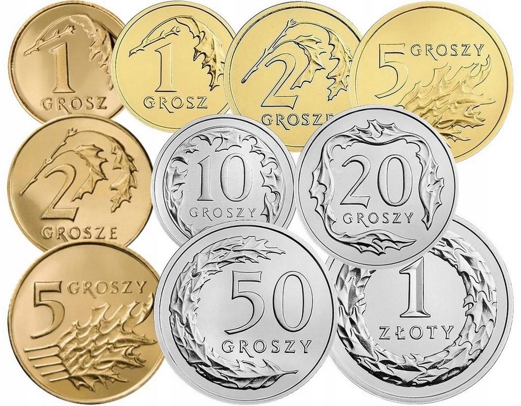 Komplet monet obiegowych 2013 r. UNC 10 sztuk