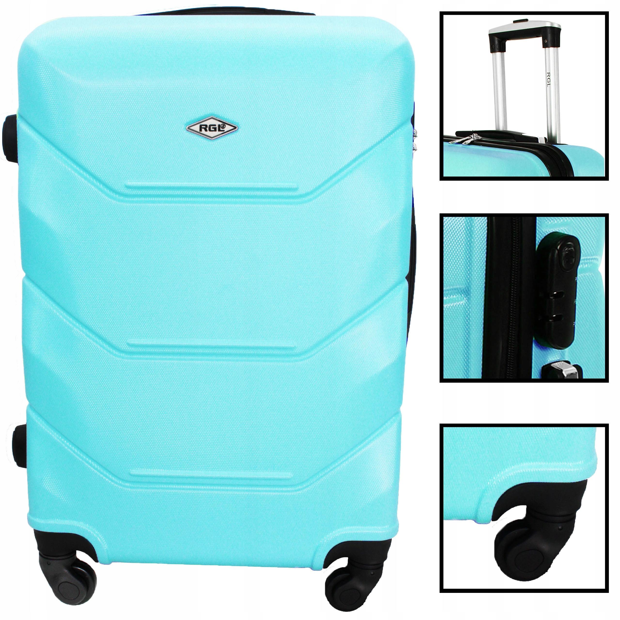 72 среднего чемодана на колесах, путешествующих мешок ABS