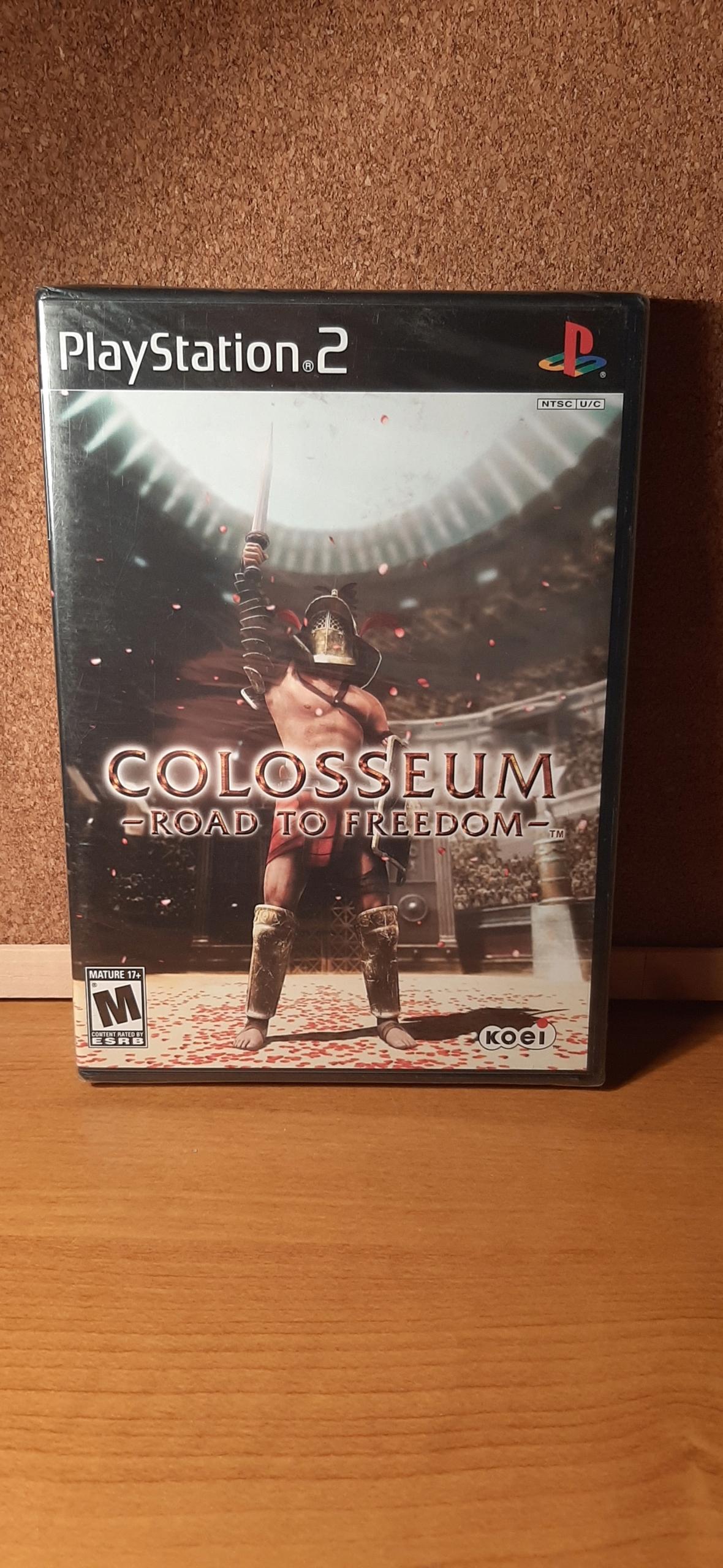Coloseum Cesta za slobodou PS2 NTSC / U retro klasika