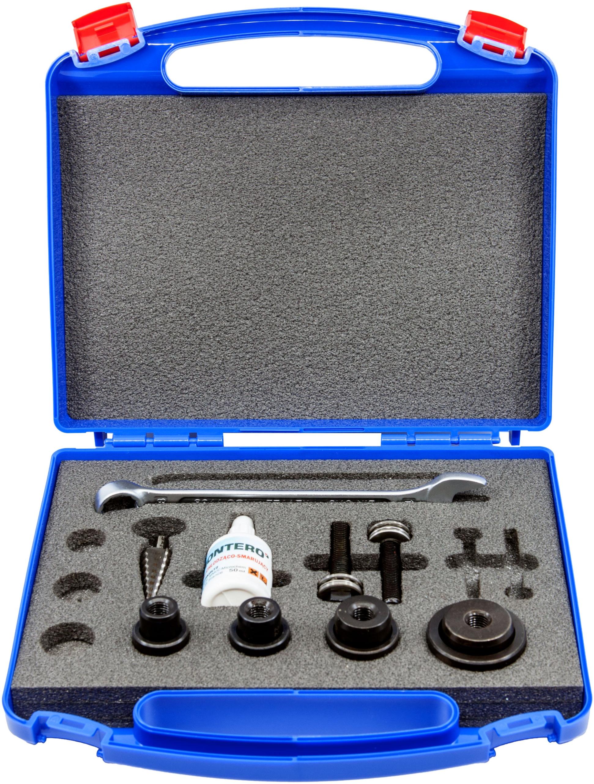 Wykrojniki śrubowe do blach 20.4 - 37.0 mm Montero