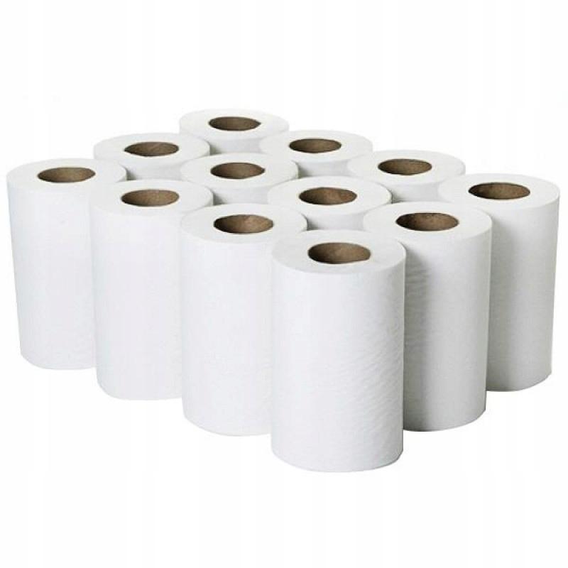 Бумажные полотенца Ветошь 55м Целлюлоза 2w. 12шт