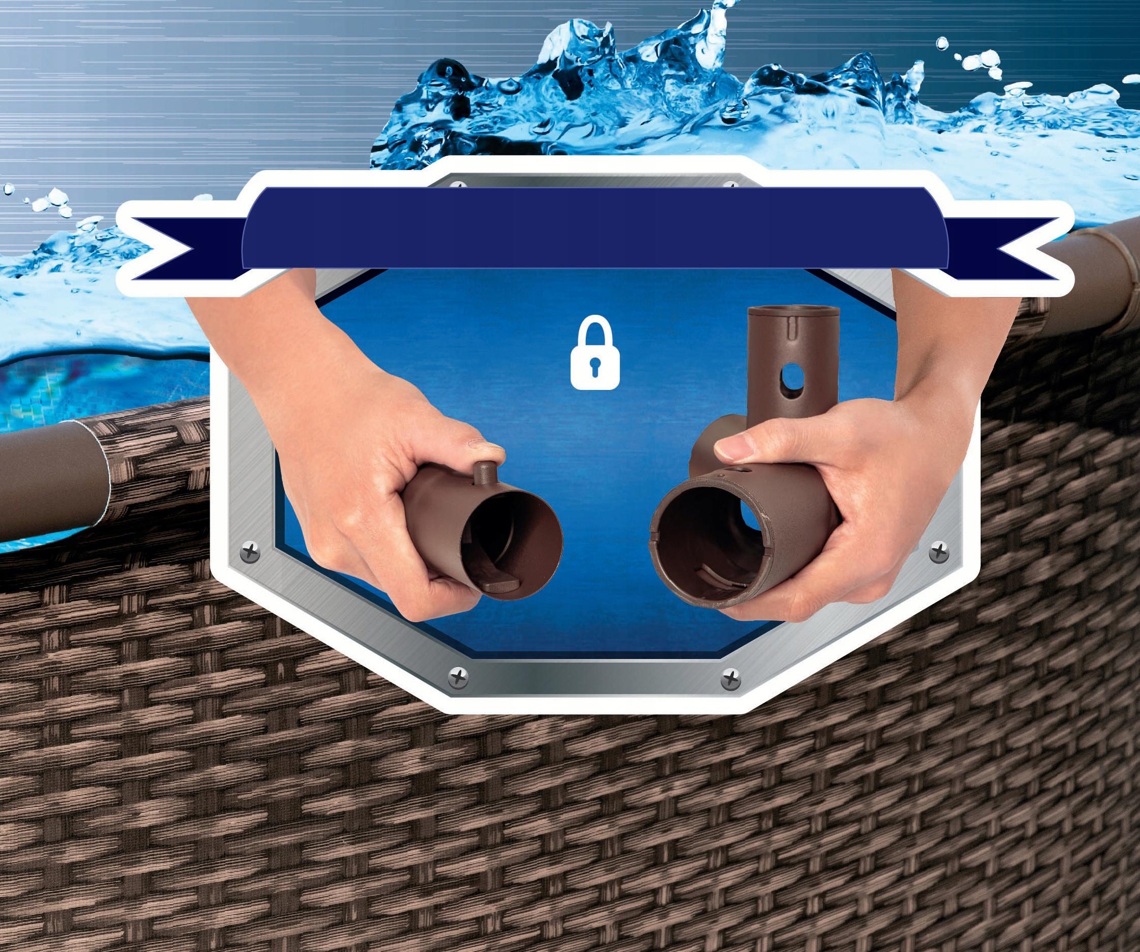 BASEN STELAŻOWY 56714 OGRODOWY Swim Vista Series 2 Szerokość 250 cm