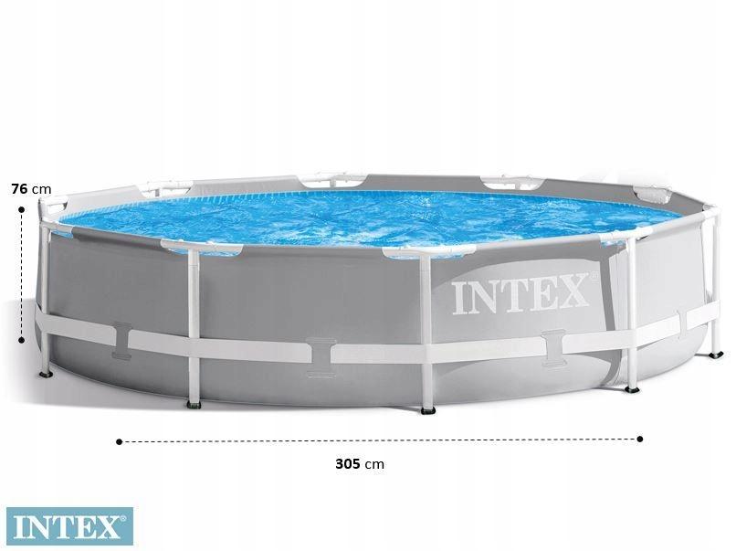 Záhradný bazén Intex Frame 305x76 26702 PLNÝ, dĺžka 305 cm