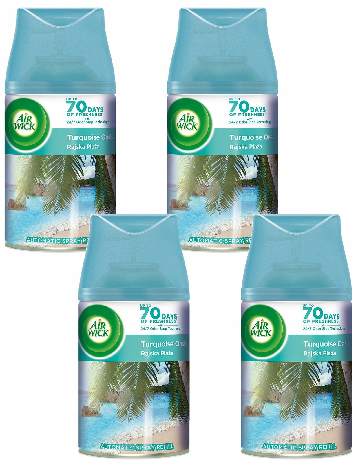 Air Wick Freshmatic Карибский Пляж Вклад 4x 250 мл