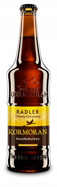 Kormoran Ciemny Radler Cytrynowa безалкогольное пиво