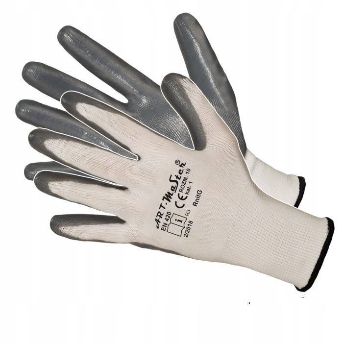 Перчатки работы перчатки NITRILE STRONG