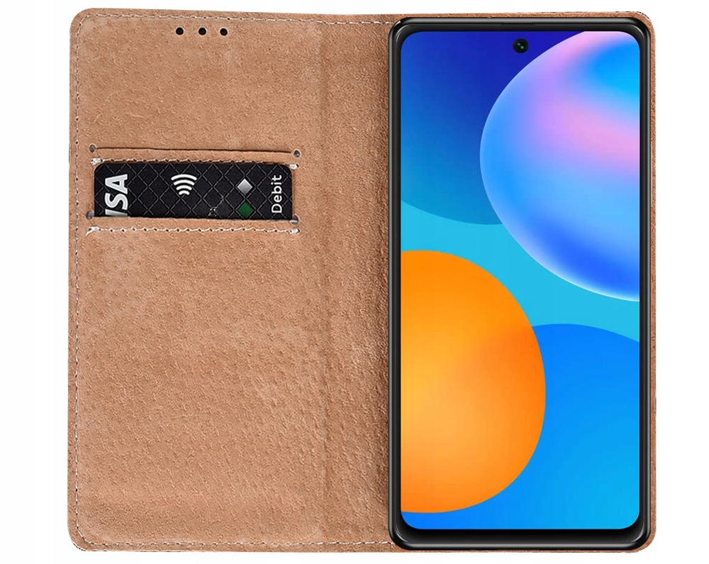 ETUI do Huawei P Smart 2021 SKÓRZANE CASE + SZKŁO Kod producenta P12
