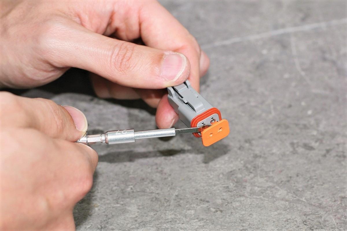 Narzędzia do terminali konektorów supaseal Deutsch Marka Laser Tools