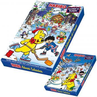 Рождественский календарь Haribo с желе XXL 300 г