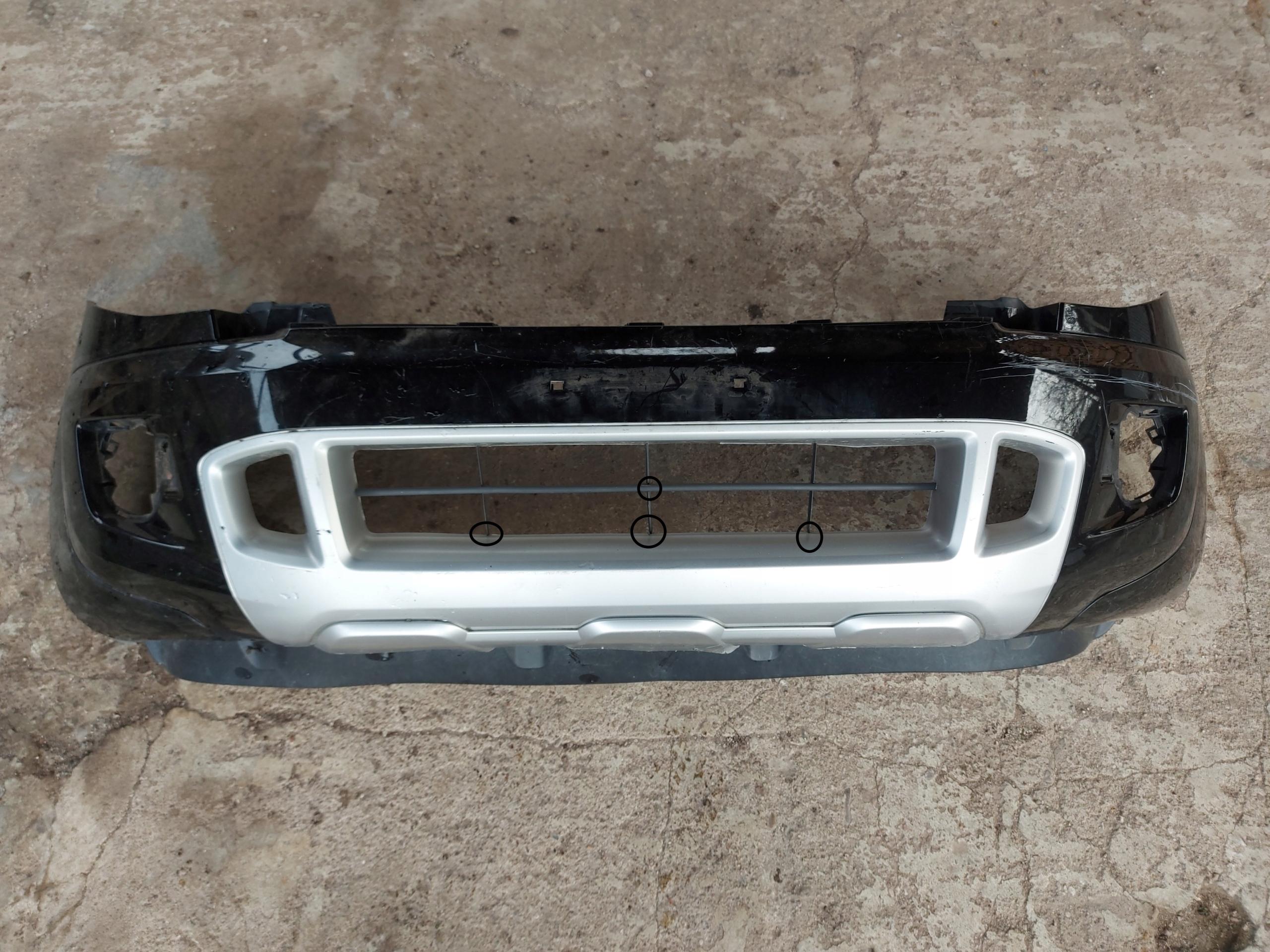ford ranger mk3 бампер вперед