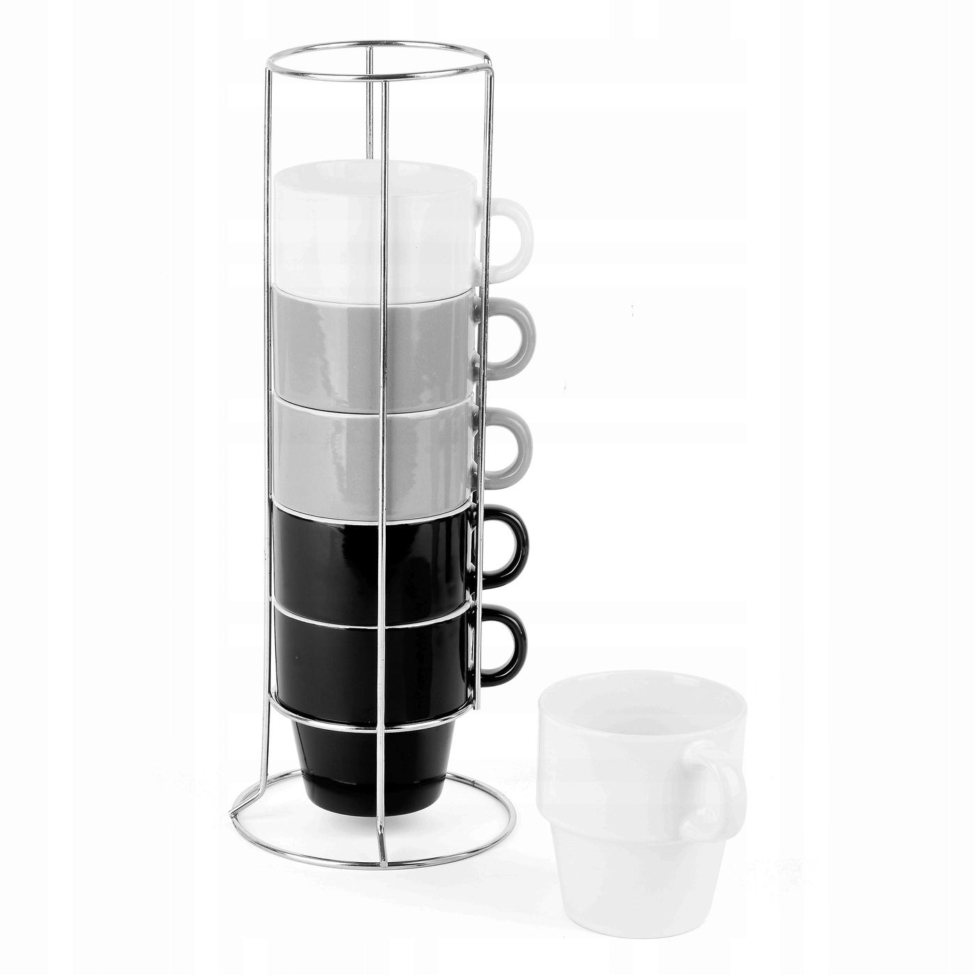 Набор чашек на подставке Тадар 250 мл 6 штук